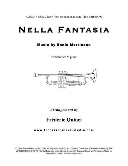 Nella Fantasia for trumpet and piano