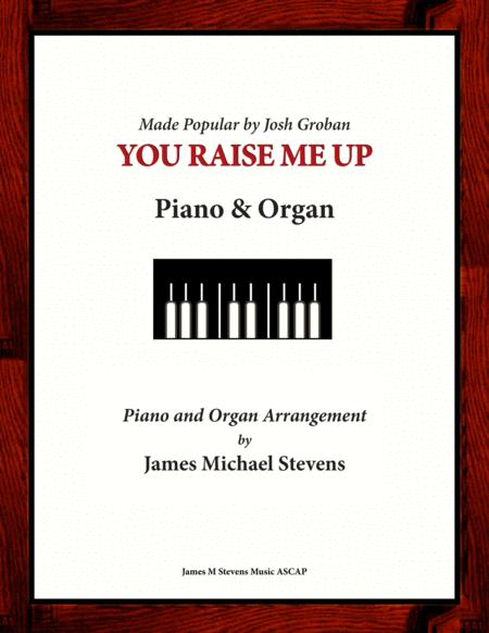 You Raise Me Up (Piano & Organ)
