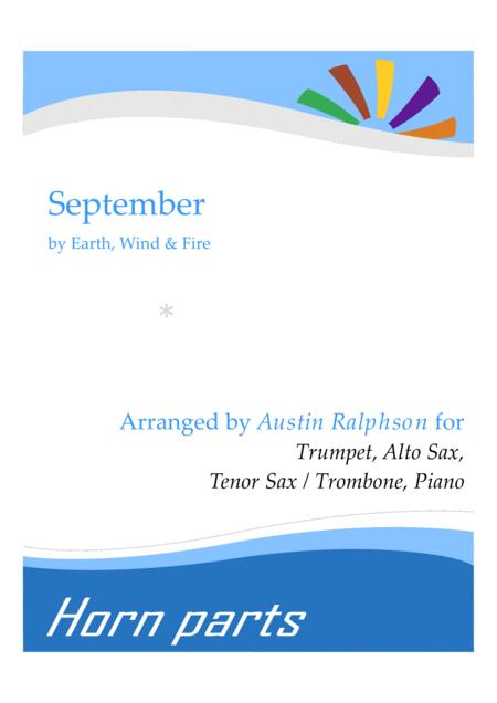September - horn parts and piano