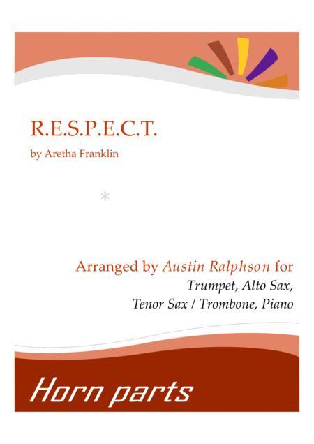 Respect (R.E.S.P.E.C.T.) - horn parts and piano