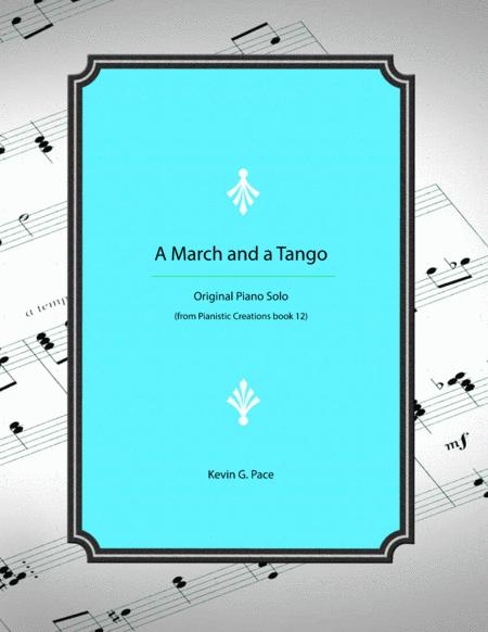 A March and a Tango - original piano solo