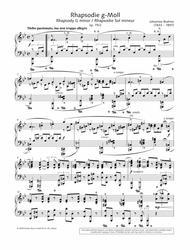 Rhapsody in G minor