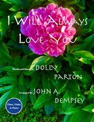 I Will Always Love You (Trio for Flute, Violin and Piano)