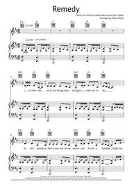 Download Remedy Piano Vocal Guitar Sheet Music By Adele