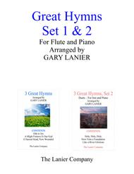 GREAT HYMNS Set 1 & 2 (Duets - Flute and Piano with Parts)