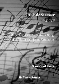 Introduction and Tarantella for Violin and String Orchestra