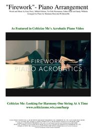 Firework Piano arrangement - As Featured in Celticize Me's Acrobatic Piano Video