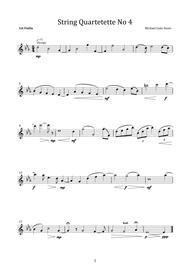 String Quartetette No 4