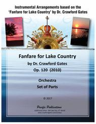 Fanfare for Lake Country Op. 120 - Set of Parts (Orchestra)