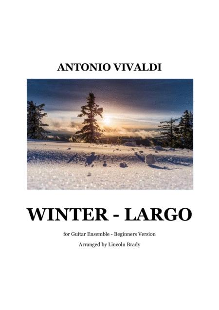 WINTER - LARGO (Beginners Version)