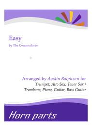 Easy - horn parts, piano, guitar and bass
