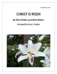 Christ Is Risen, vocal solo