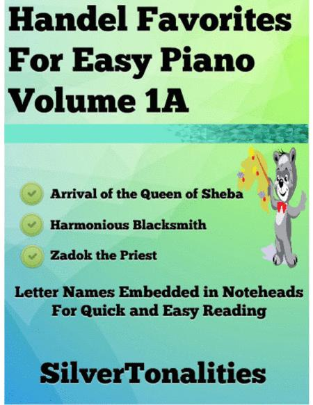 Handel Favorites for Easy Piano Volume 1 A Sheet Music