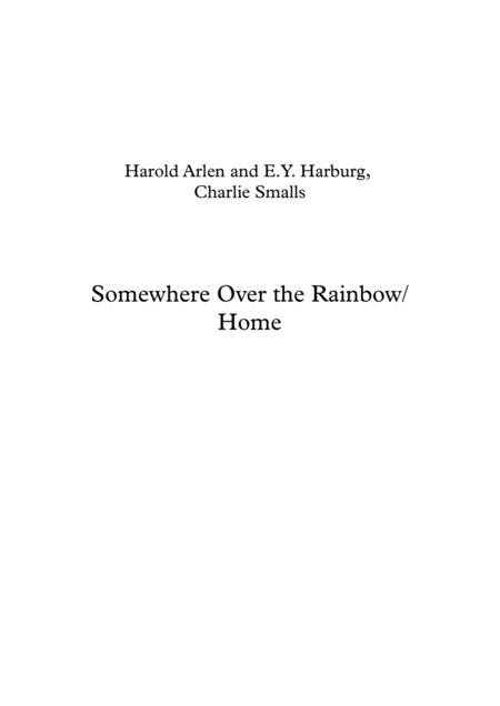 Over The Rainbow (from The Wizard Of Oz) / Home