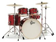 Gre Energy 5pc Z Cymbals Red Vb Hw