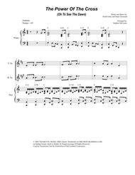 The Power Of The Cross (Oh To See The Dawn) (for Saxophone Quartet)