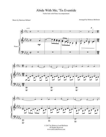 Abide With Me; 'Tis Eventide (Violin Solo)