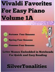 Vivaldi Favorites for Easy Piano Volume 1 A