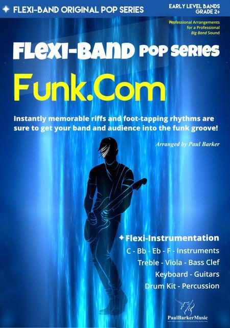 Funk.Com (Flexi-Band Score & Parts)