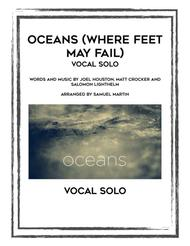 Download Oceans (Where Feet May Fail) Vocal Solo Sheet Music