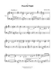 Peaceful Night - advanced piano solo
