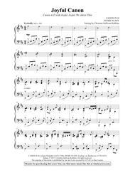 Joyful Canon (Canon in D with Joyful, Joyful, We Adore Thee)