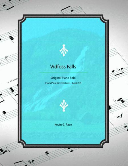 Vidfoss Falls - advanced piano solo