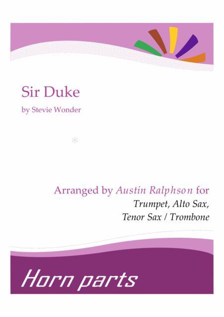 Sir Duke - horn parts