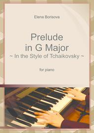 Prelude in G major