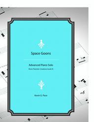 Space Goon - advanced piano solo