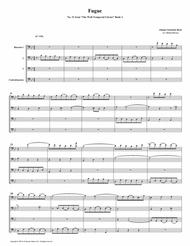 Fugue 21 from Well-Tempered Clavier, Book 2 (Bassoon Quartet)
