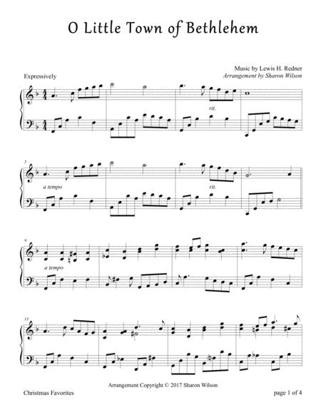 O Little Town of Bethlehem (Piano Solo)