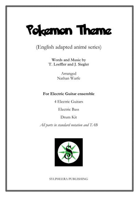 Pokemon Theme  - Electric Guitar Ensemble