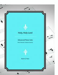 Holy, Holy Lord - original piano solo