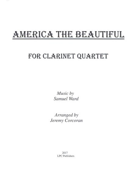 America the Beautiful for Clarinet Quartet