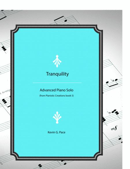 Tranquility - original piano solo