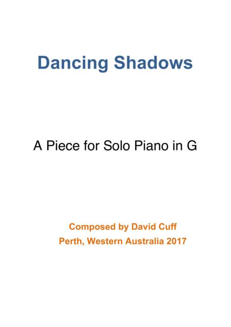 Dancing Shadows for Pianoforte in G