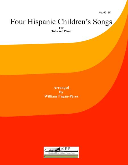 Four Hispanic Children's Songs for Tuba and Piano