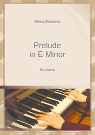 Prelude in E minor