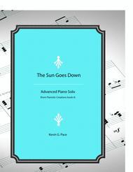 The Sun Goes Down - original piano solo