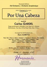 TANGO - Por Una Cabeza - Carlos Gardel - Arr : Marc Garetto // FULL ORCHESTRA - Score & Parts