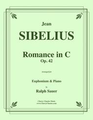 Romance in C, Op. 42 for Euphonium & Piano