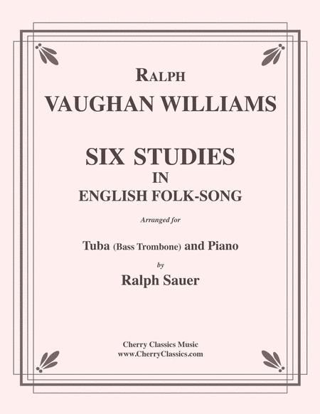 Six Studies in English Folksong for Tuba or Bass Trombone