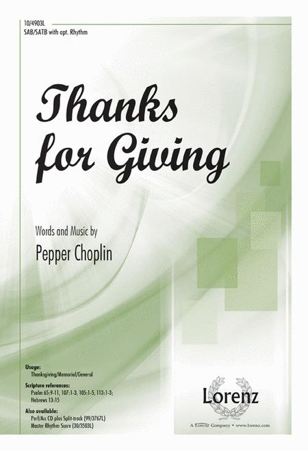 Thanks for Giving