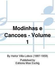 Modinhas e Cancoes, Volume 1