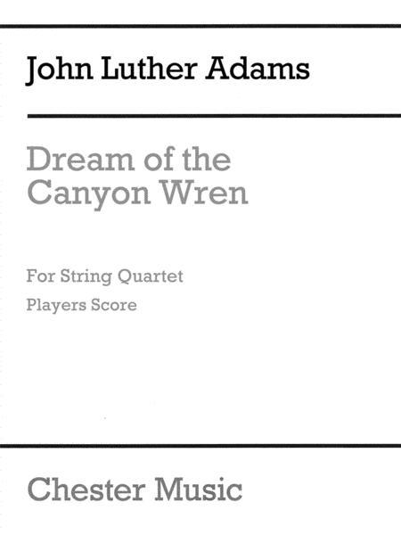 Dream of the Canyon Wren