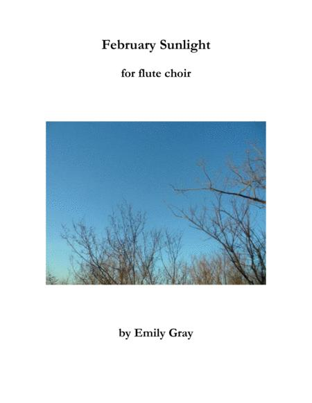February Sunlight (Flute Choir)