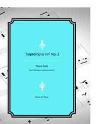 Impromptu in F No. 2 - original piano solo