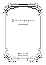 Dimitris Anousis Sonatina For Piano