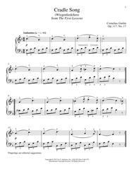 Cradle Song (Wiegenliedchen), Op. 117, No. 17